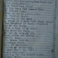 Buku Lama Berisi Lirik Notasi Lagu Barat Kenangan