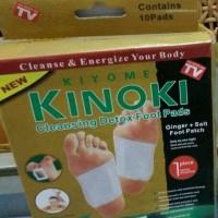 KIYOME KINOKI CLEANSING DETOX FOOT PADS , GOLD , EMAS ISI 10 PADS