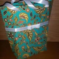 Jual Handmade Tas Kertas Batik Buket, Snack Gift Favour Party Bday Murah