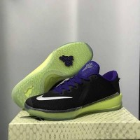 sepatu basket nike kobe venom black purple green