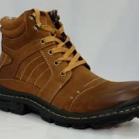 Sepatu boots modern pria Jim joker ORIGINAL JERUK 2B Bahan kulit Best