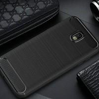 Soft case Ipaky Carbon Fs Samsung J5 Pro Casing Galeno Fiber J5pro