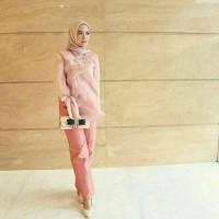 Jual blouse organza silk Murah