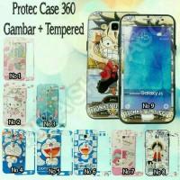 CASE 360 FULL PROTECTION KARAKTER SAMSUNG J710 2016 FREE TEMPERED GLAS