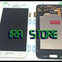 LCD+TOUCHSCREEN SAMSUNG GALAXY J5 J500G OC READY HITAM - PUTIH -GOLD