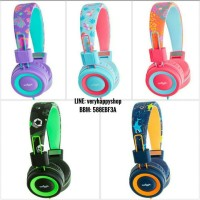 Smiggle Tropi-Cool Tropic Flexi Headphones