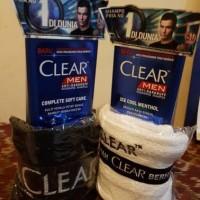 clear man shampo 340 ml