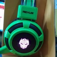 harga Rexus F15 Headphone Headset Gaming Game Gamers Biru Tokopedia.com