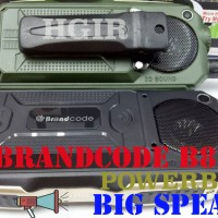 BRANDCODE BRANCODE B81 BATTERY HP OUTDOOR bisa POWERBANK 10.000 mAH