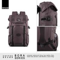 Jual Backpack   Tas Ransel Laptop Rayleigh Bora Coffee Brown Murah