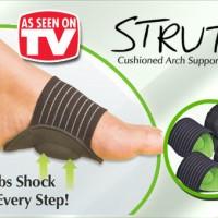 Cushioned Arch Support / Bantalan Pelindung Kaki / strutz kaki