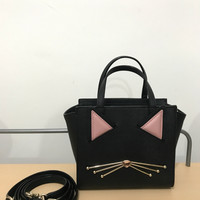 Tas Kate Spade Hayden Cat Black Tas KS Original