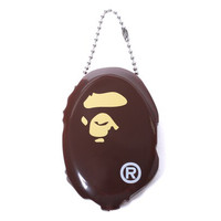 Bape Ape Head Coin Case Keychain