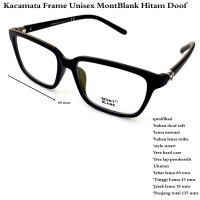 Kacamata terbaru Frame Unisex MontBlank  KODE FD218