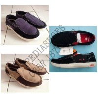NEW Sepatu Casual Pria Crocs Santa Monica Original Termurah