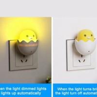 Jual Lampu Tidur Sensor Cahaya Model Telur Murah