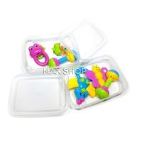 Jual Baby Rattle Mainan Edukasi Anak Bayi / Krincingan Bayi / Latih Motorik Murah