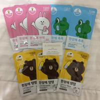Jual 100% ORIGINAL LINE TPO Face Mask Sheet Masker Korea Murah