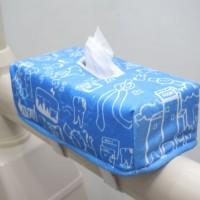 Tissue Box Dental Chair - Biru