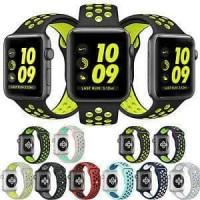 Jual NEW COLOR strap apple watch nike sport band 38mm n 42mm series 1 & 2 Murah