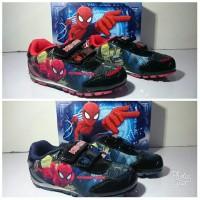 Sepatu Anak Disney Marvel Spiderman ORIGINAL LICENSI