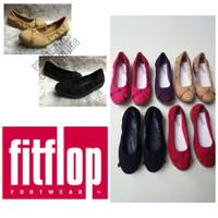 Jual (Original Fitflop) Sepatu Balet Wanita Fitflop F-Pop Ballerina Suede Murah