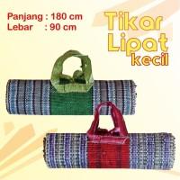Tikar Gulung - Tikar Lipat - Tiker Karpet Praktis - 180 cm x 90 cm