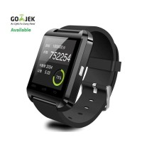 Jual Promo!! I-One U8 Smartwatch For Android And Ios - Hitam Murah