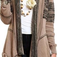 Jual Gaia Clothe Line Cardigan HNC Knit - Mocca Murah