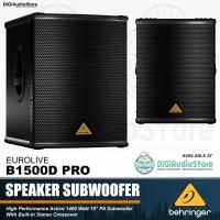 BEHRINGER EUROLIVE B1500D PRO - Speaker Subwoofer Aktif 15 inch 1500 W