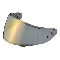 Visor Helm Shoei Type CWR-1 PINLOCK® Ready – Smoke Mirror Gold