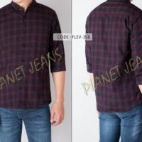 Jual [HQ] Kemeja flanel pria / baju hem flannel untuk cowok tangan panjang Murah