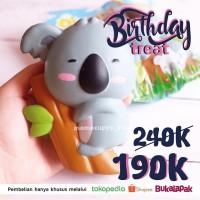 Jual PROMO ULANG TAHUN Yumeno sleepy koala Squishy ( Original & BNIP) Murah