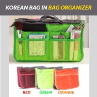 Jual Jual korean bag in bag organizer / dual bag in bag / korean bag Murah