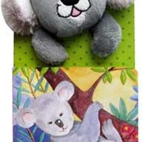 Jual Mainan Edukasi Katie the Koala Gets Muddy Board Book with Finger Pu... Murah