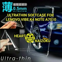 Jual Ultrathin/Softcase/Jelly/Silicon Case Lenovo Vibe K4 Note A7010 Murah