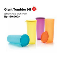 Tupperware Giant Tumbler Tempat Minum Besar