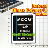 Baterai Himax Polymer Li Ha-20b Mcom