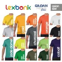 Jual Kaos Polos GILDAN Premium Cotton (XS, S, M, L, XL) Murah