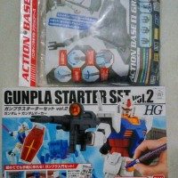 HG Gunpla Starter Set Vol.2 Free Gundam Marker + Action Base Gray