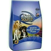 dog food nutrisource small & medium puppy 1kg