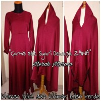"Dhieyaz Collection ""Gamis Set Syar'i Dewasa Zaina"" all size"