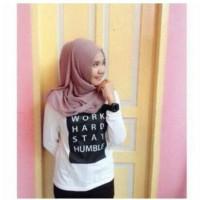 baju atasan wanita tumbler tee tshirt t shirt kaos tumblr putih hijab