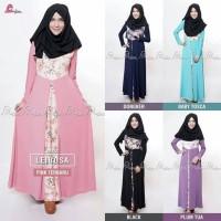 Gamis Dress Muslimah Leirosa Miulan Hijab