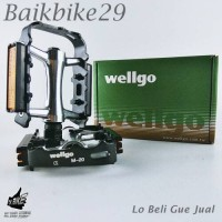 Pedal Wellgo M-20 Reflektor New Coming
