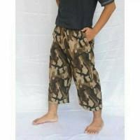 celana pangsi / celana sirwal / celana tanggung / sirwal loreng army