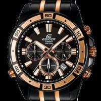 casio edifice Ef-534 black rosgold