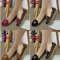 SEPATU FASHION LV , Sepatu Wanita Import , Louis Vuitton 5153-A2