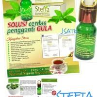 Pemanis Alami STEFIA cair / Gula Zero Kalori STEVIA