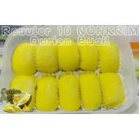 Jual Pancake Reguler NONKRIM isi 10 pcs Rainbow Gojek Only Durian Medan Murah